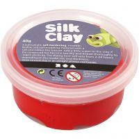 Silk Clay®, rød, 40 g/ 1 ds.