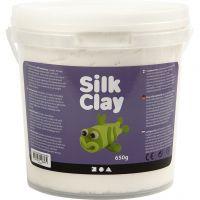 Silk Clay®, hvid, 650 g/ 1 spand