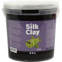 Silk Clay®, sort, 650 g/ 1 spand