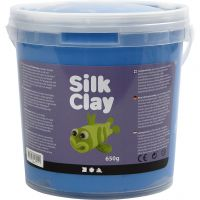 Silk Clay®, blå, 650 g/ 1 spand