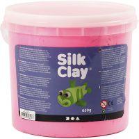 Silk Clay®, pink, 650 g/ 1 spand