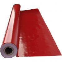Voksdug, str. 140 cm, rød, 1 lb.m.