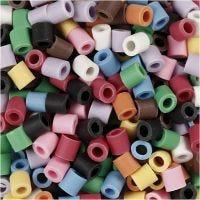 Nabbi Bio Beads, str. 5x5 mm, medium, ass. farver, 3000 stk./ 1 pk.