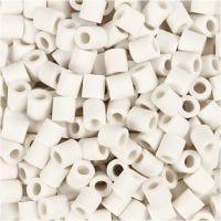 Nabbi Bio Beads, str. 5x5 mm, medium, hvid, 3000 stk./ 1 pk.