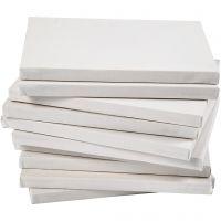 Malerlærred opspændt på blindramme, A4 21x30 cm, dybde 1,6 cm, 10 stk., 280 g, 10 stk./ 1 pk.