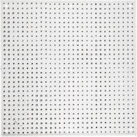 Perleplade til fotorørperler 15x15 cm., 10 stk., 10 stk./ 1 pk.