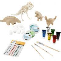 Krea-pakke– Dinosaur, 1 sæt