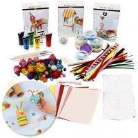Krea-pakke – Kreativ med genbrug, 1 sæt