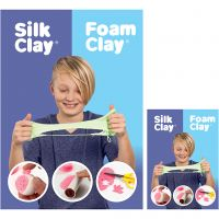 Plakat, Foam Clay® og Silk Clay®, 3 stk./ 1 pk.
