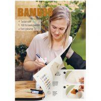 Inspirationshæfte, Bambus, Home Decor, 1 stk.