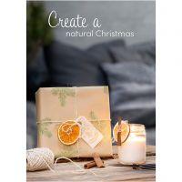 Plakat, Nature Christmas, str. 21x30+29,7x42+50x70 cm, 4 stk./ 1 pk.