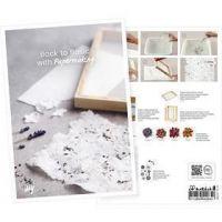 Postkort, Fordyb dig i papirfremstilling, A5, 14,8x21 cm, 1 stk.