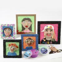 Selvportrætter med Silk Clay