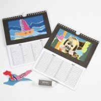 Kalender med rivecollage