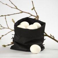 Pose til æg - syet af imiteret stof