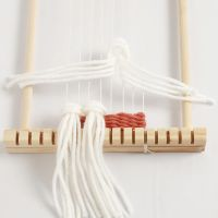 Sådan væver du med ryaknuder (rya knots)