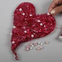 Hjerte af cellofan