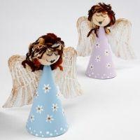 Engel på papkegle