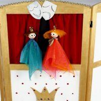 Dukker til dukketeater