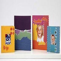 Kinabøger med collage