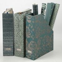 Tidsskriftholder med håndlavet papir