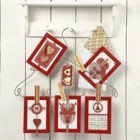 Forskellige julekort i design fra Vivi Gade