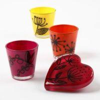 Glas, dekoreret med Glass Ceramic