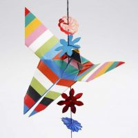 Sommerfugl, foldet efter origamiteknik