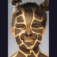 Ansigtsmaling - Giraf