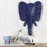 Vilde dyr, malet og dekoreret med tuschtegning