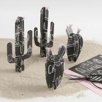Kaktus af designpapir fra Vivi Gade