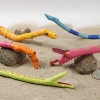 Dyr af grene dekoreret med Plus Color tusch