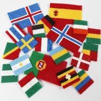 Verdens flag af rørperler