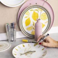 Giv gammelt porcelæn nyt liv med glas og porcelænstusch