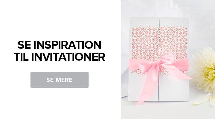 Få inspiration til DIY invitationer