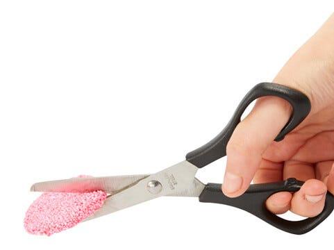 Klip eller skær i Foam Clay