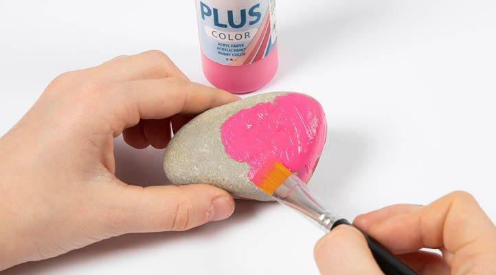 Kreative idéer til børn der vil male på sten