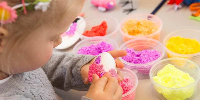 Kreative idéer til børn