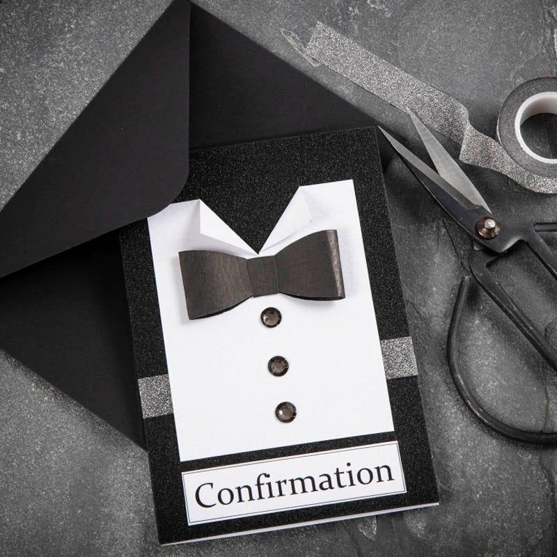 Hjemmelavede indbydelser til konfirmation